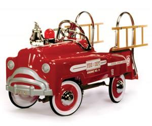 American-Retro Classic Pedal Fire Truck